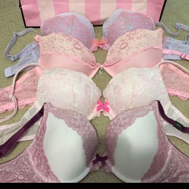 Victoria Secret Luxurious Lace Push Up Bras Collection