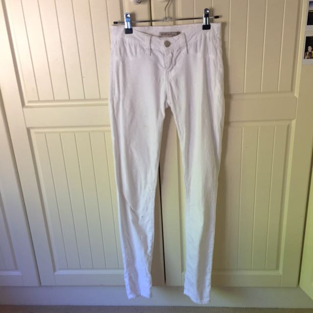White Denim Jeans Size 0