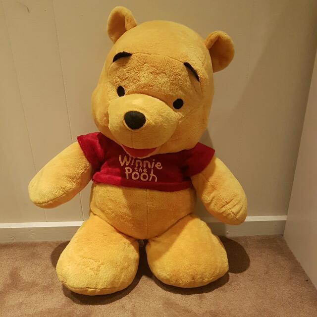 Winnie the pooh stuffed toy / teddy bear