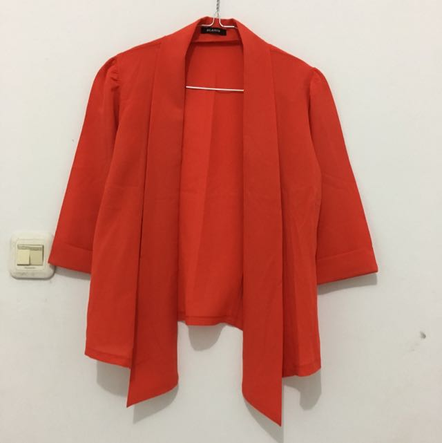 Women Orange Outer