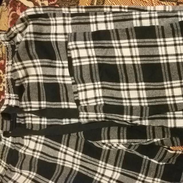 Womens Plaid Pyjama Pants