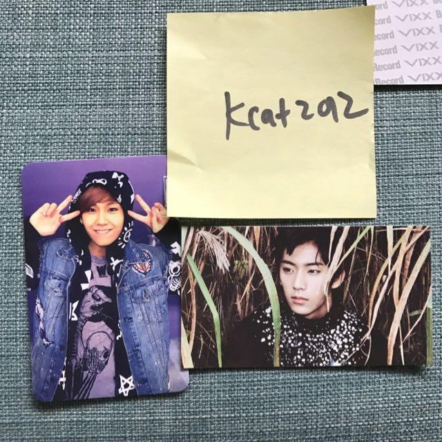 WTS BTOB B1A4 Photocards Official