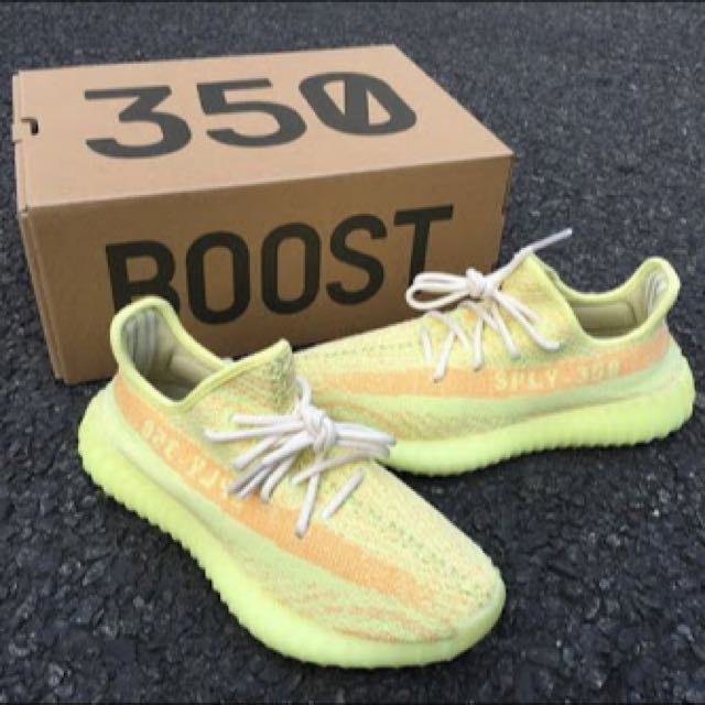 Yeezy 350 V2 Sample (Yellow/orange)