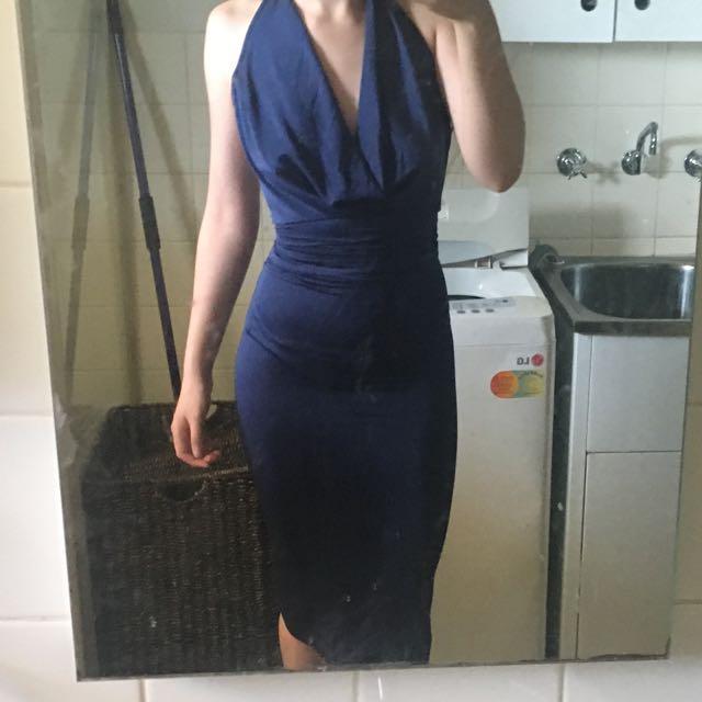 Zip Up, Backless Dress