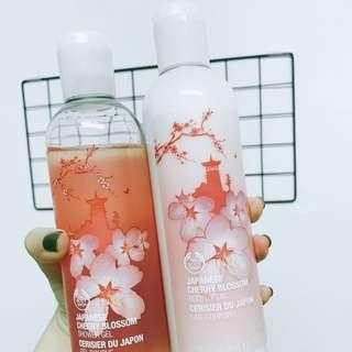 The Body Shop 櫻花系列