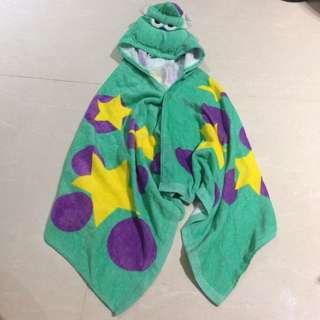 Apujiu✨迪士尼怪獸電力公司怪獸大學毛怪毛披肩浴巾立體造型