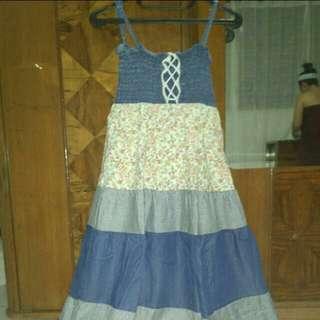 Long Dress Kombinasi