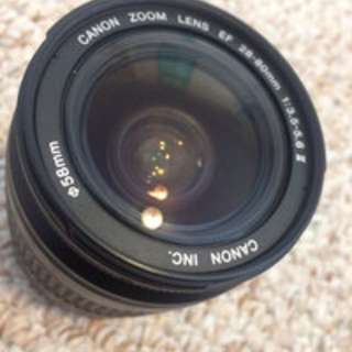 Canon Sigma EF zoom 28-80mm lens