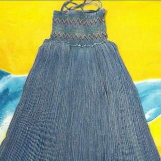 Dress Panjang Denim