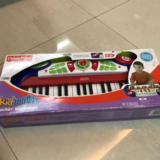 Fisher Price Kidtronics Rocking Keyboard -New