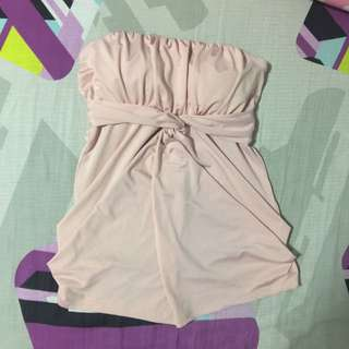 RESERVED Pastel Pink Tube Top
