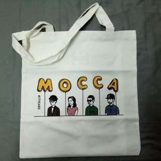 Mocca 17 years totebag