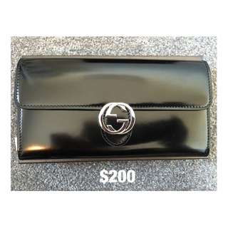 Genuine Leather Gucci Wallet