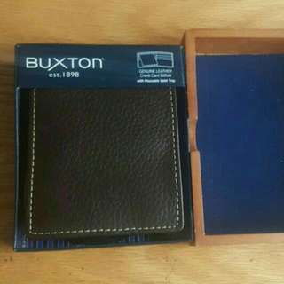 Brown Leather Buxton Wallet