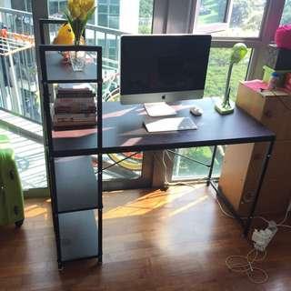 Computer Table w/ Book Shelf