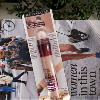 💜 Maybelline New York Instant Age Rewind Eraser for Dark Circles Treatment Concealer, 120 Light Pale