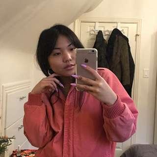 Vintage Pink Corduroy Jacket