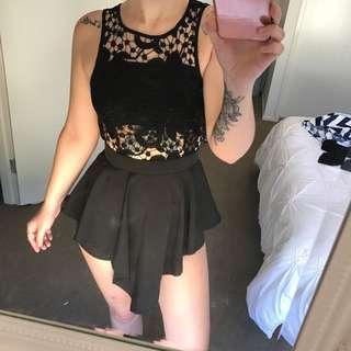 XS Black Jumpsuit