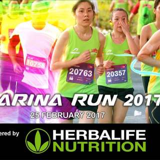Wts- Marina Run 2017 Running Bib