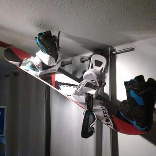 Never Used New Firefly Snowboard , New K2 Boots , New Burton Bindings &  New Scott Goggles.