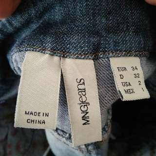 Mango MNG Denim Skirt
