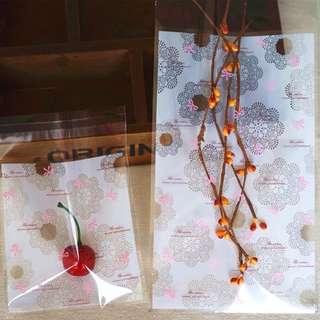 🚚 自黏袋/餅乾袋/糖果袋/手作/手工皂袋/飾品袋/婚禮小物