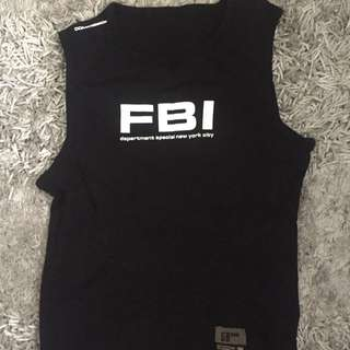 FBI tank top