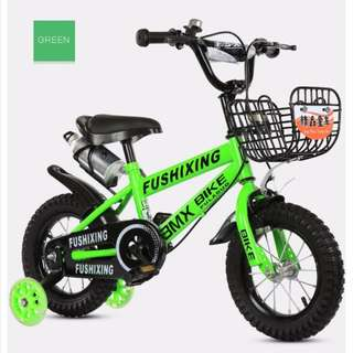 PO* Children/Kids Bike/Bicycle With Tricycle (Self-Assemble)