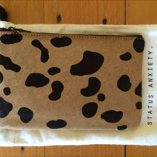 Status Anxiety Maud Wild Cat Pouch/purse/wallet