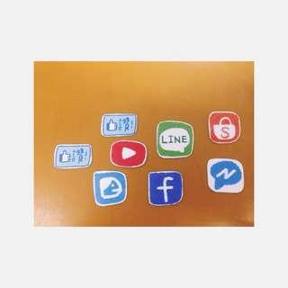 手繪貼紙—手機程式