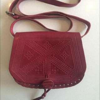 Sports girl Burgundy Bag