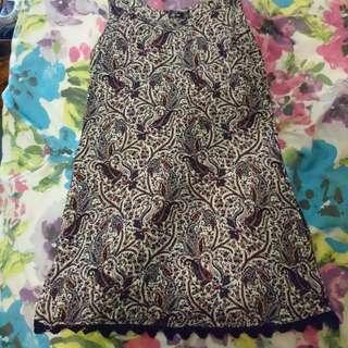 Paisley Patterned Dress