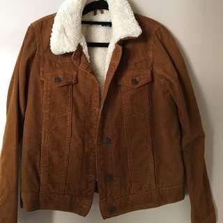 Topshop Cord Jacket