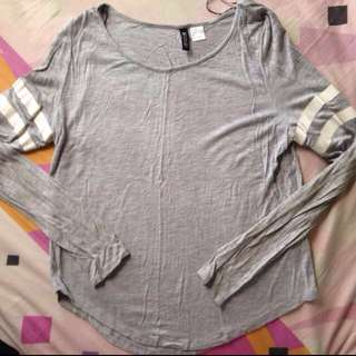 H&M Divided Grey Longsleeve