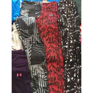 Under armour 女生 Nike 新款 長褲 壓力褲 吸濕排汗 正品