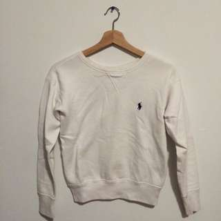 Polo Ralph Lauren White Crew neck