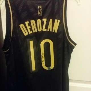 Signed DeRozan Jersey