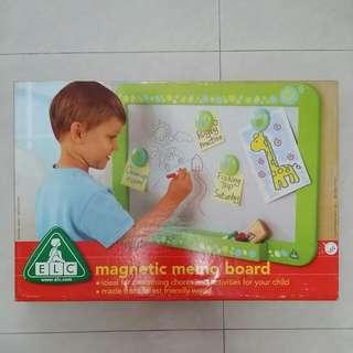 ELC Magnetic Memo Board
