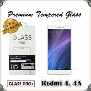 Redmi 4 4A Glass Pro+ Premium Tempered Glass