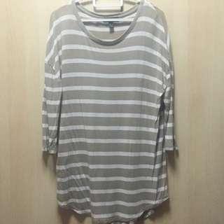 Mango Stripe Tshirt