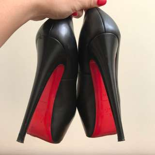Authentic Louboutins Heels Size 37.5