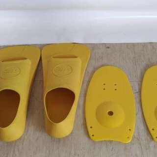 游泳競賽訓練蛙鞋組