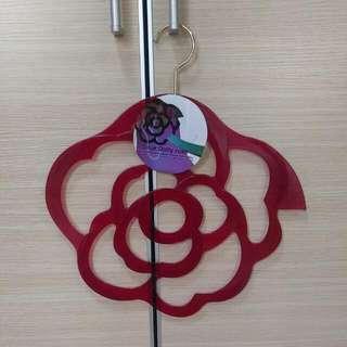 玫瑰花衣架