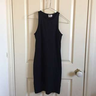 H&M Fitted Black Dress