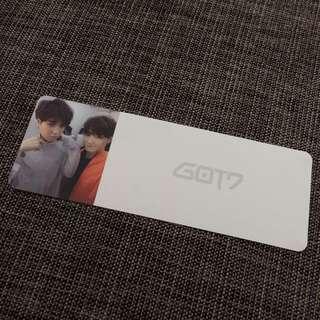 Got7 Yugyeom & JB Official Card