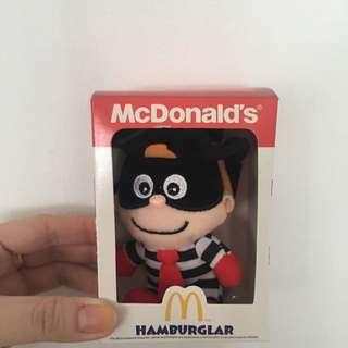 McD Hamburglar Plush toy