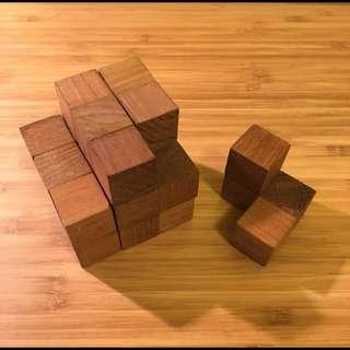 益智玩具 / 木頭
