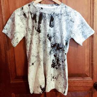 __BrandNew__ Dark Blue Pomo Ink T-shirt