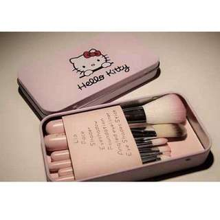 Hello Kitty 7pcs Brush Set