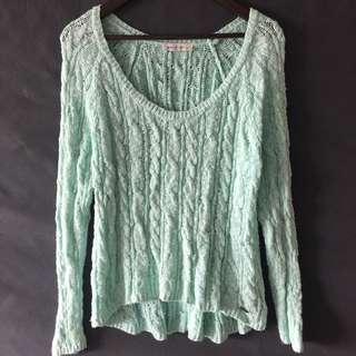 Abercrombie&Fitch mint jumper